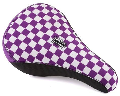 Stolen Fast Times XL Checkerboard Pivotal Seat (Lavender/White)