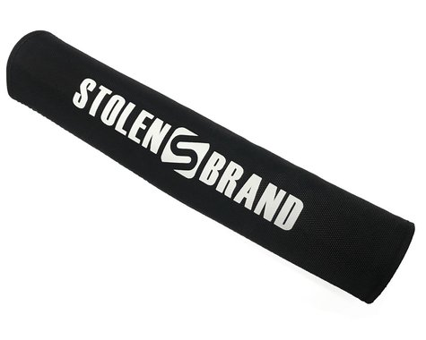 Stolen Logo Crossbar Pad (Black with White Logo)