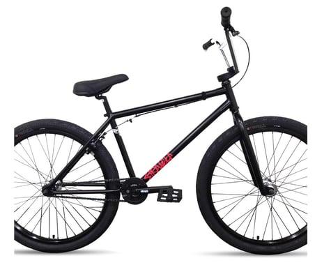 """Stranger 2021 Creeper 26"""" BMX Bike (Matte Black/Chrome)"""