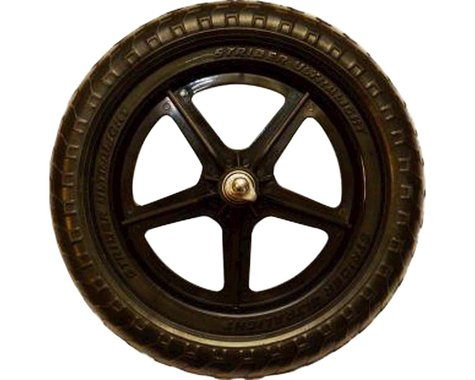 "Strider Sports Ultralight 12"" Replacement Wheel (Black) (Single)"