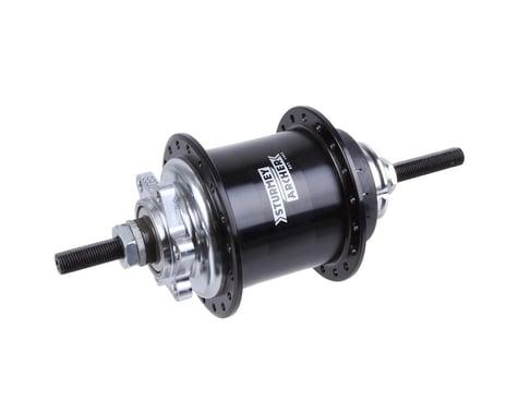 Sturmey Archer RS-RK3 3-sp disc hub, 36h - black