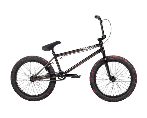 "Subrosa 2021 Salvador FC BMX Bike (21"" Toptube) (Gloss Translucent Black)"