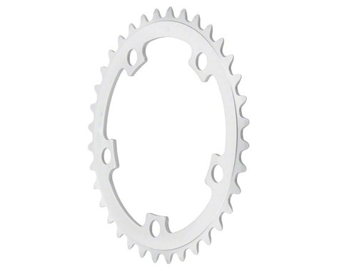 Sugino 5-Bolt Mountain Middle Chainring (Anodized Silver) (110mm BCD) (34T)