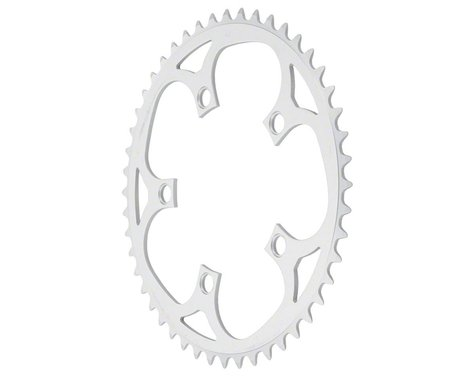 Sugino 5-Bolt Mountain Outer Chainring (Anodized Silver) (110mm BCD) (52T)