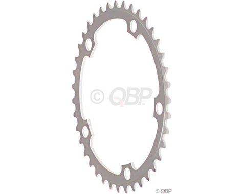 Sugino 5-Bolt Chainring (Anodized Silver) (130mm BCD) (46T)