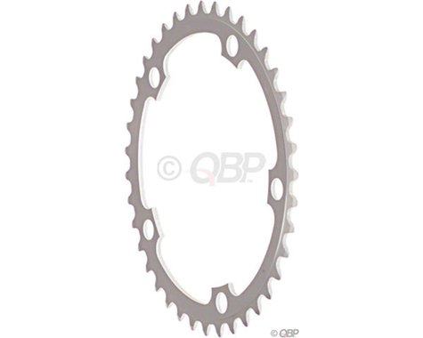 Sugino 5-Bolt Chainring (Anodized Silver) (130mm BCD) (53T)