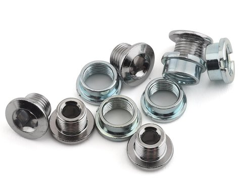 Sugino Single 6mm Chainring Bolt (Chromed Steel) (5)