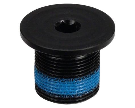 Sugino External Crank Arm Fixing Bolt (Black) (6mm Hex) (16mm Thread Length) (1)