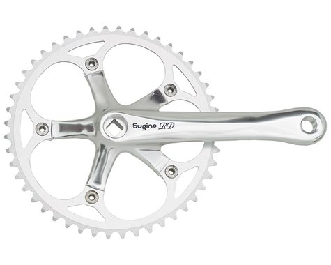 Sugino RD2 Crankset - 170mm, Single Speed, 48t, 130 BCD, Square Taper JIS Spindl