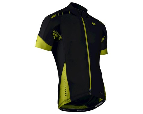 Sugoi RS Pro Short Sleeve Jersey (Black/Yellow)