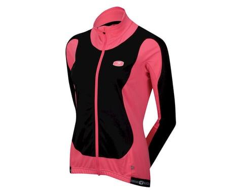Sugoi Women's RS Zero Long Sleeve Jersey (Black/Pink)
