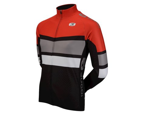 Sugoi Evolution Pro Long Sleeve Jersey (Red/White/Black)