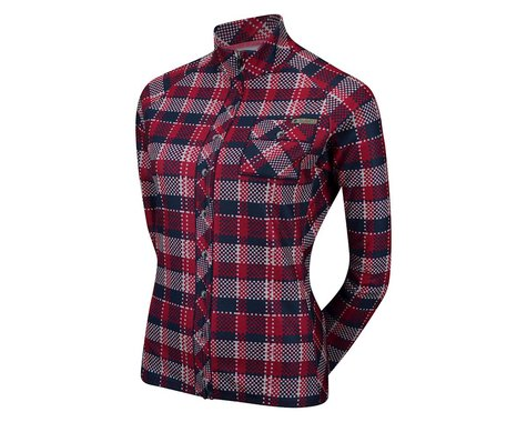 Sugoi Women's Evolution Plaid Long Sleeve Jersey (Plaid)