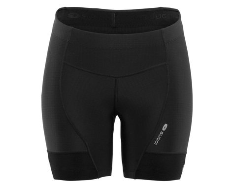 Sugoi Women's Evolution Shortie Shorts (Black) (M)