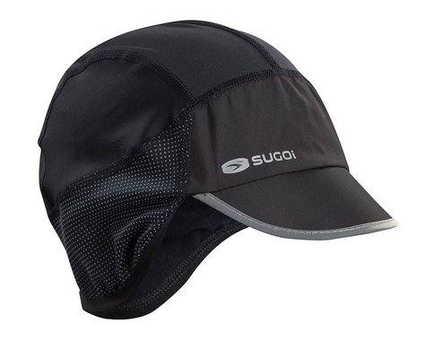 Sugoi Winter Cycling Hat (Black) (Universal Adult)