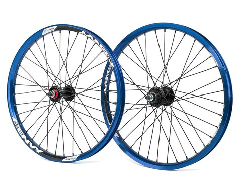 Sun Ringle Sun Envy Cassette Wheel Set (Blue) (20 x 1.75)