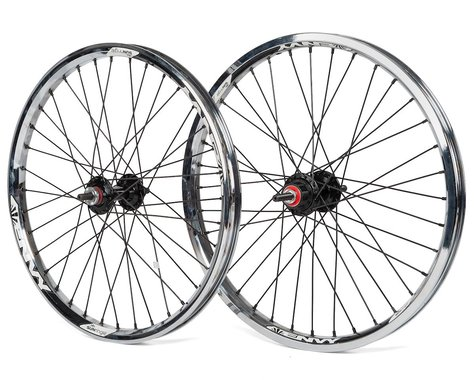Sun Ringle Sun Envy Cassette Wheel Set (Chrome) (20 x 1.75)