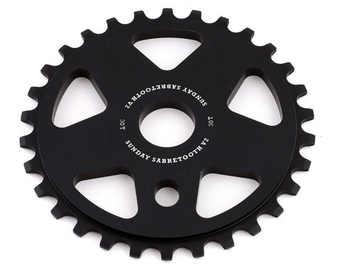 Sunday Sabretooth V2 Sprocket (Black) (30T)