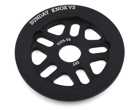 Sunday Knox V2 Guard Sprocket (Black) (25T)