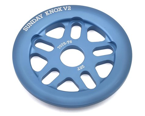 Sunday Knox V2 Guard Sprocket (Frost Blue) (25T)