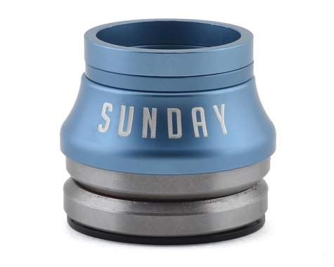 "Sunday Conical Integrated Headset (Frost Blue) (1-1/8"")"