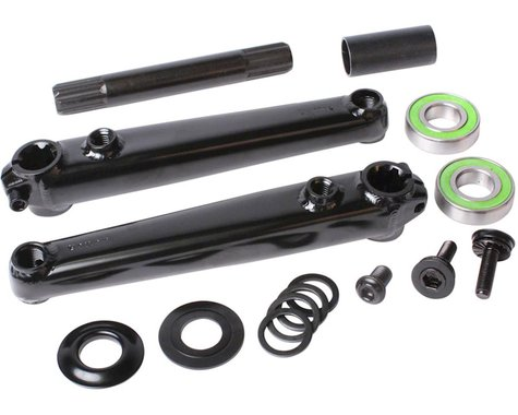 Sunday Saker V2 Cranks (Black) (19mm Bottom Bracket Included) (165mm)