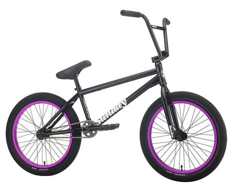 "Sunday 2021 Forecaster BMX Bike (Alec Siemon) (20.75"" Toptube) (Black/Purple)"