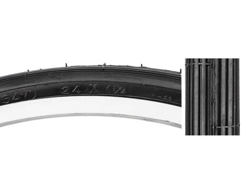 "Sunlite 24"" Recreational Tire (Black) (24 x 1-1/4)"