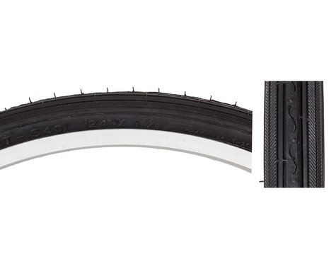 "Sunlite Recreational Road Tire (Black) (24"") (1-3/8"")"
