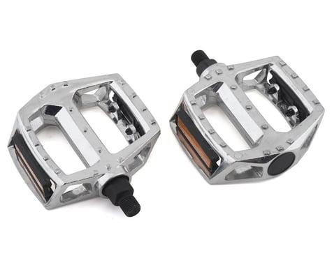 """Sunlite MX Alloy Platform Pedals (Silver) (1/2"""")"""
