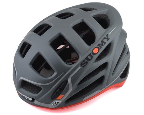 Suomy Gunwind S-Line Helmet (Anthracite/Matte Red) (S/M)
