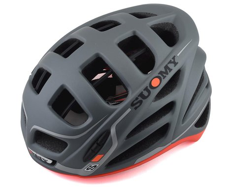Suomy Gunwind S-Line Helmet (Anthracite/Matte Red) (L/XL)