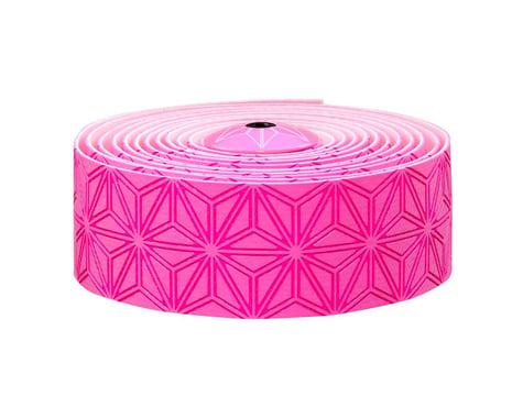 Supacaz Super Sticky Kush Handlebar Tape (Neon Pink)