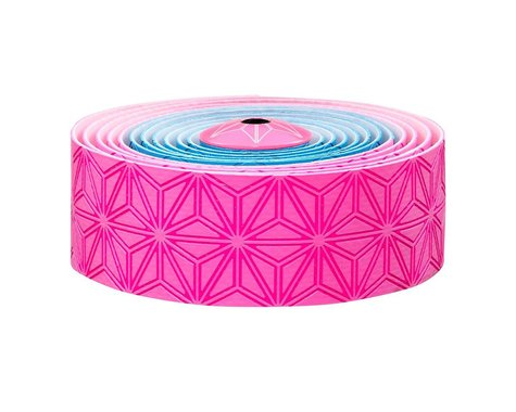 Supacaz Super Sticky Kush Handlebar Tape (Neon Pink & Blue)