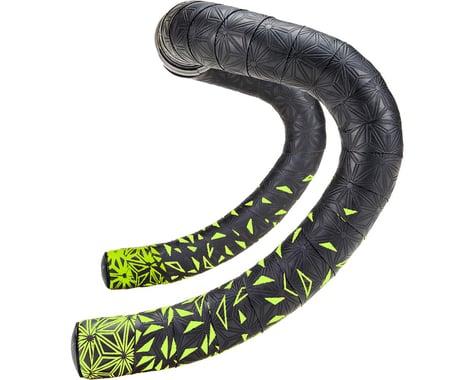 Supacaz Super Sticky Kush Handlebar Tape (Starfade Black & Yellow)