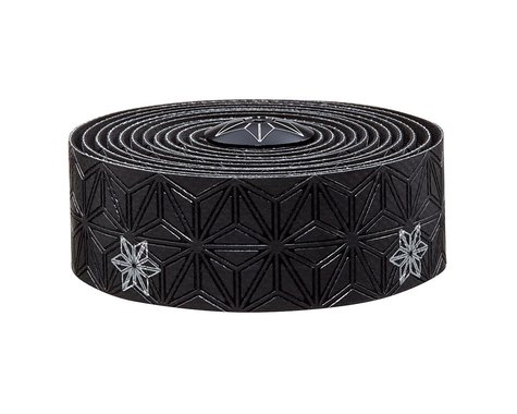 Supacaz Super Sticky Kush Handlebar Tape (Silver/Galaxy Black)