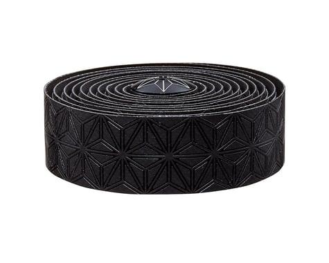 Supacaz Super Sticky Kush Handlebar Tape w/ Silicone Gel (Black)