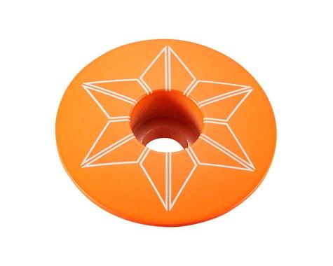 Supacaz Star Cap (Neon Orange)