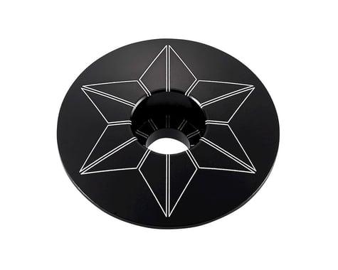 Supacaz Star Cap (Black Anodized)