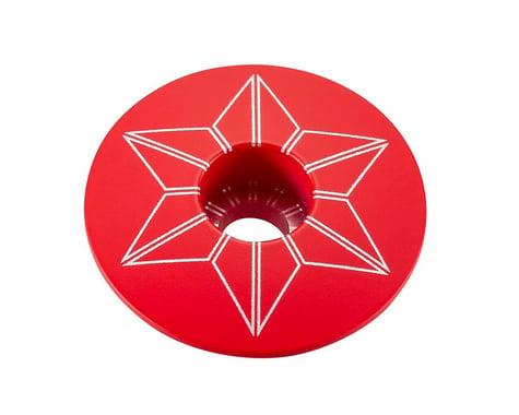 Supacaz Star Cap (Red)