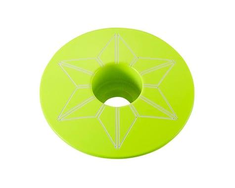 Supacaz Star Cap (Neon Yellow)