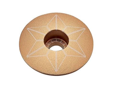 Supacaz Star Cap (Gold Anodized)