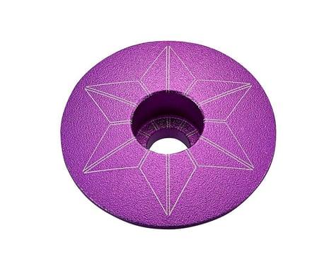 Supacaz Star Cap (Purple Anodized)