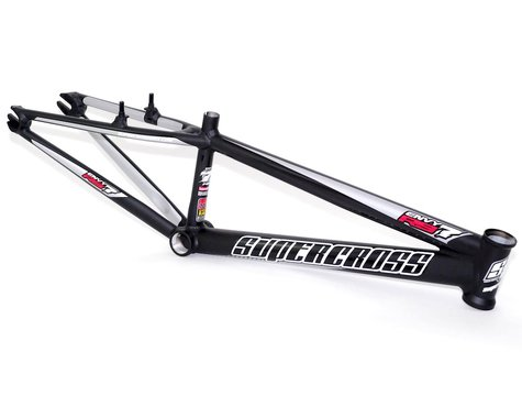 "Supercross Envy RS7 20"" BMX Race Bike Frame (Matte Black) (Mini)"