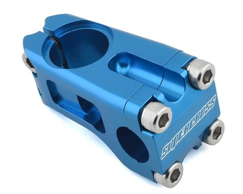 Supercross Racerhead Front Load Stem (Blue) 1-1/8