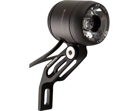 Supernova E3 Pure 3 Dynamo Headlight (Black)
