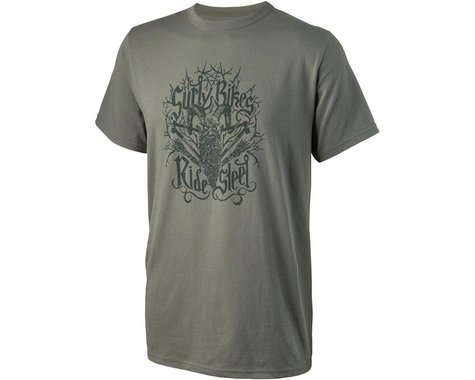 Surly Ride Steel Men's T-Shirt (Green)