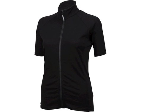Surly Merino Wool Lite Women's Short Sleeve Jersey (Black)