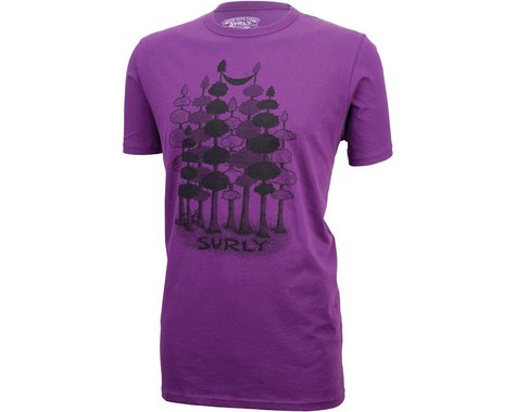Surly Sacked Men's T-Shirt: Purple