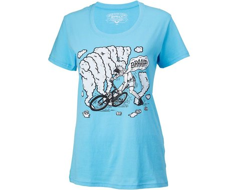 Surly Hang a Leg Women's T-Shirt (Blue) (XL)
